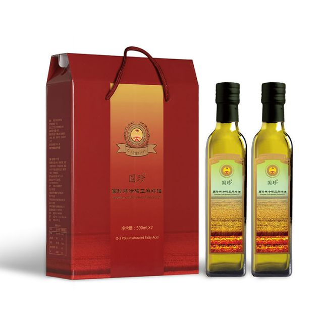 Guozhen® Cold Pressed Linseed Oil